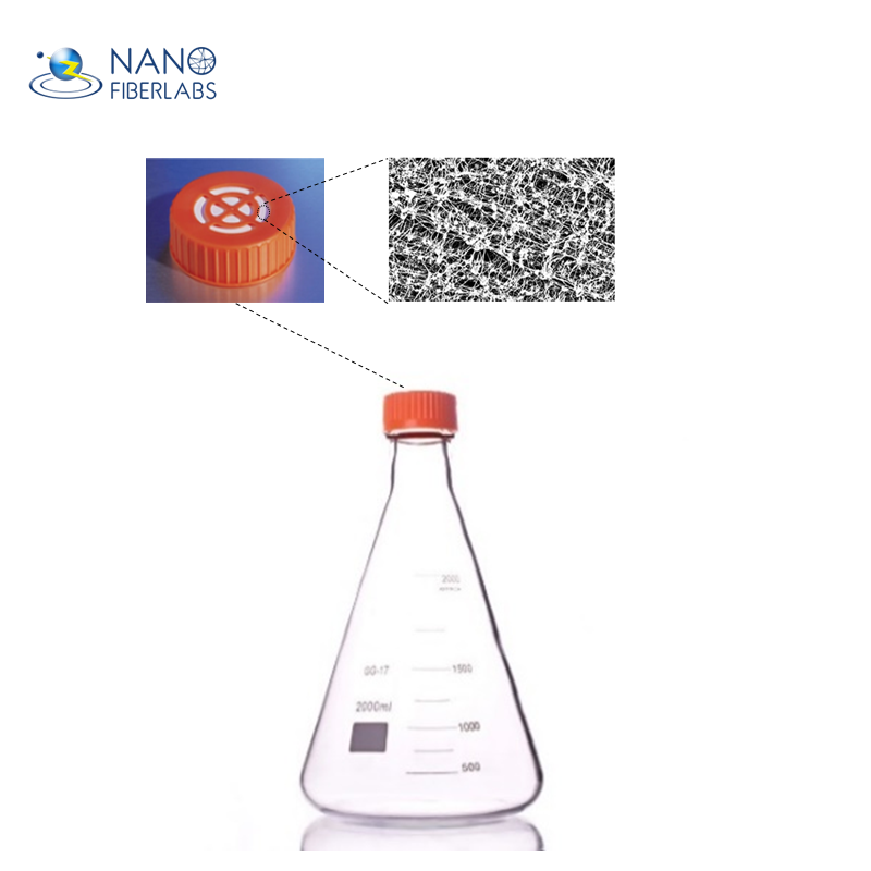 Medical Grade Cell Culture Erlenmeyer Flask Air-permeable -cap Suspension Shaker Flask